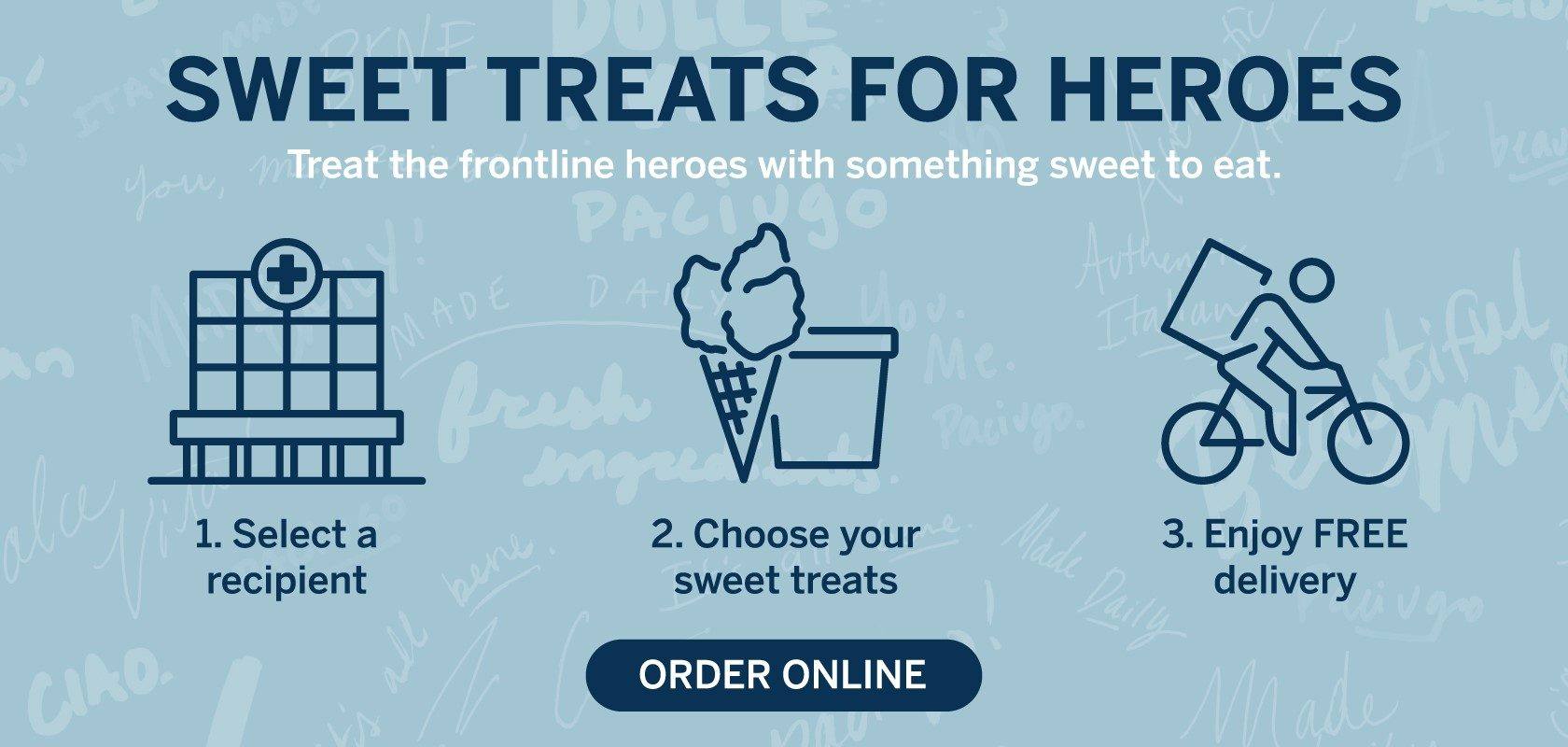 Sweet Treats For Heroes